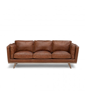 Wallace Leather Couch