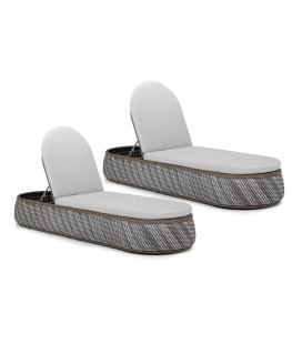 Island Pool Lounger - Set of 2   Sun & Pool Loungers   Loungers   Patio   Outdoor -