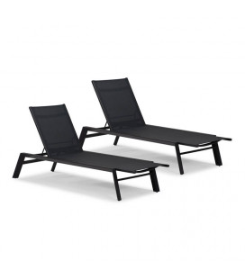 LaMina Pool Lounger - Set of 2 | Pool Loungers | Lounger | Outdoor | Patio | Cielo -