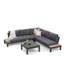 Bristol Corner Patio Lounge Set | Patio | Patio Sets | Outdoor Furniture | Cielo -