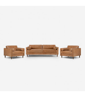 Harrison Leather Lounge Suite | Lounge | Lounge Suites | Cielo -
