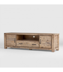 Vancouver Acacia Wood TV Stand - 2m