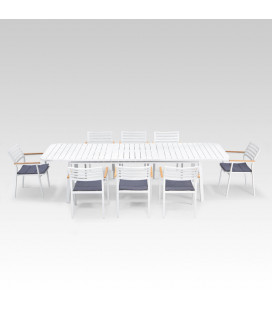 Cayman Patio Dining Set - 8 Seater| Dining Sets | Outdoor | Cielo -