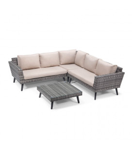 Berlin Patio Lounge Set - Titanium| Patio Sets | Patio | Cielo | -