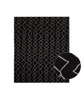 Keswa Rug - Large - Black - Black | Rugs | Decor | Cielo -