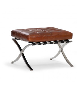 Replica Barcelona Footstool - Tan