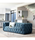 Coleford Couch - Silver Blue