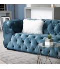 Coleford Couch - Silver Blue | Fabric Couches | Couches | Living | Cielo -