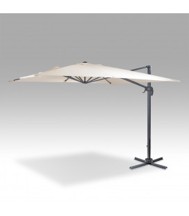 Beige 360 Degree Cantilever Umbrella | Patio Umbrella -