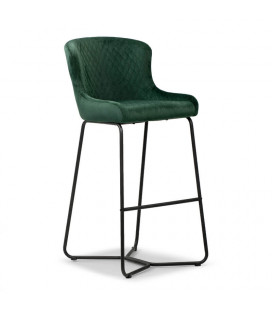 Mayfield Tall Bar Chair - Emerald Green