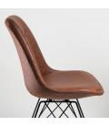 Enzo Dining Chair vintage brown -