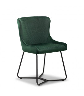 Mayfield Dining Chair - Emerald Green