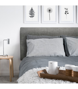 Gemma Headboard Single | Fusion Grey