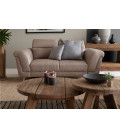 Laurence Two Seater - Sandstone | Fabric Couches | Couches | Living | Cielo -