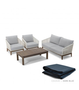 Calabria Patio Set - Protective Cover - Dark Blue | Patio Covers | Patio | Cielo -