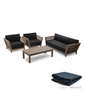 Leclair Patio Set - Protective Cover - Dark Blue | Patio Covers | Patio | Cielo -