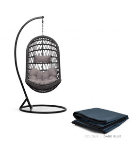 Minali Hanging Chair Protective Cover - Dark Blue