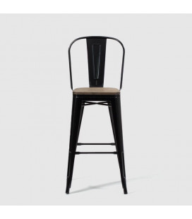 Conrad Metal Stool - Black - 21 Day Deals | Bar Chairs for Sale -