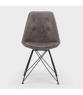 Enzo Dining Chair - Vintage Grey - 21 Day Deals -