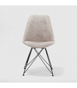 Enzo Dining Chair - Vintage Stone - 21 Day Deals -