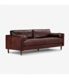 Harrison Couch - Brown | Couches | Leather Couch | Living | Cielo | 21 Day Deals -
