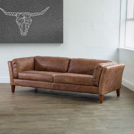 Gabriel Tan Leather Couch Leather Couches