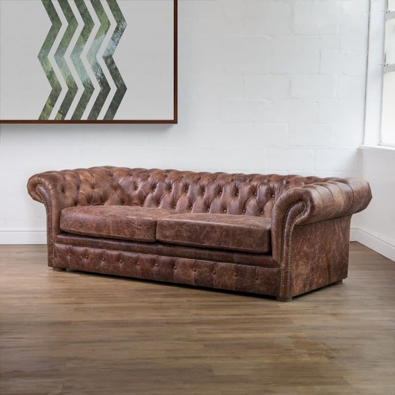 Fine Grayson Leather Couch Brown Download Free Architecture Designs Salvmadebymaigaardcom