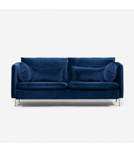 Sherman Couch - Royal Blue