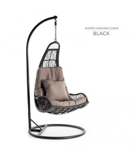 Jasper Hanging Chair Black