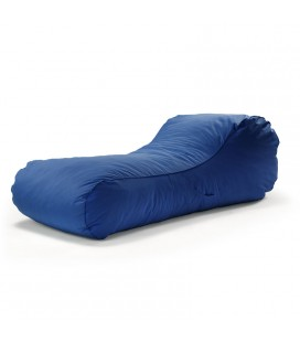 Paxton Dark Blue Bean Bag Lounger | Bean Bag Chairs | 21 Day Deals -