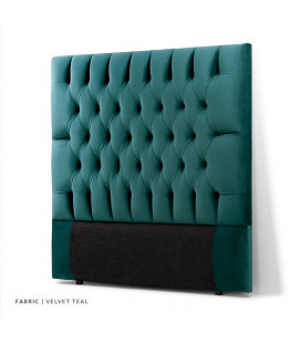 Catherine Queen Headboard | Velvet Teal
