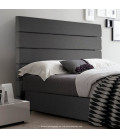 Drew Headboard - Urban Steel