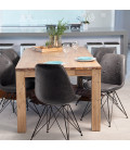 Vancouver Enzo Dining Set - Vintage Grey (1.6m) | Dining Sets -