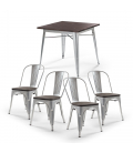 Owen Oslo Dining Set - Silver   Dining Room Sets for Sale   21 Day Deals -