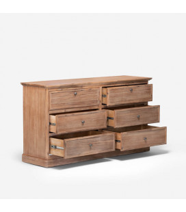 Ferris Chest of Drawers + Pedestal Set | Chest of Drawers | Pedestals | Bedroom | Combo | Cielo -