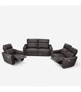 Morris Recliner Set - Mercury