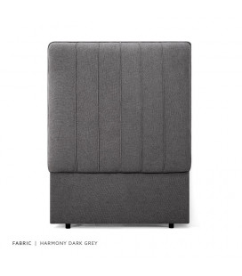 Austin Headboard Single | Dark Grey