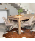 Vancouver Enzo Dining Set - Vintage Stone (2.4m)   Dining Sets