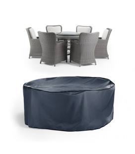 Aspen Geneva Patio Set Protective Cover - Dark Blue -