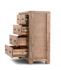 Vancouver Acacia Wood Chest Of Drawers -