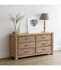 Vancouver Chest of Drawers - 6 Drawers