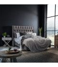 Madison Headboard - Queen | Everest Grey