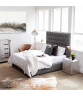 Catherine Bed - Single Extra Length | Vintage Grey