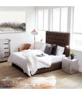 Catherine Bed - Double | Vintage Brown