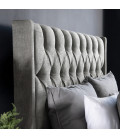 Madison Headboard - Single | Everest Silver