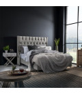 Madison Bed - Single XL | Everest Silver
