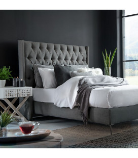 Madison Bed - Queen | Fusion Grey