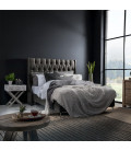 Madison Headboard - Single | Everest Titanium