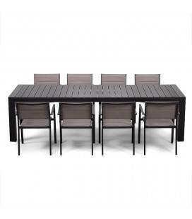 Gold Coast Patio Dining Set - 8 Seater