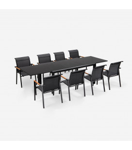 Villora Patio Dining Set - 8 Seater